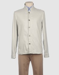 Nicolo Ceschi Nicolo' Ceschi Berrini Shirts Long Sleeve Shirts Men Light Grey