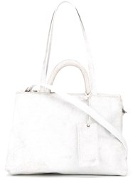 Marsell Marsa Ll Hanging Tag Shoulder Bag White