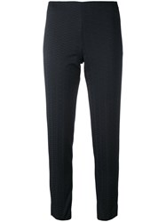 Pt01 Slim Fit Trousers Women Polyester 46 Black