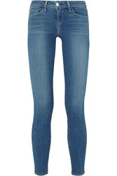 L'agence The Chantal Low Rise Skinny Jeans Mid Denim