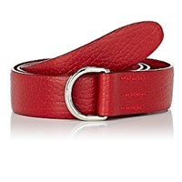 Felisi Grained Leather Belt Red