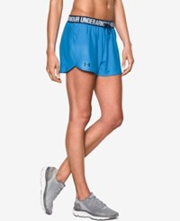 Under Armour Play Up Shorts Water Midnight Navy