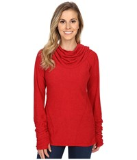 Kuhl Kamryn Pullover Ruby Women's Long Sleeve Pullover Red