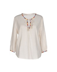 Bella Jones Shirts Blouses Women Ivory