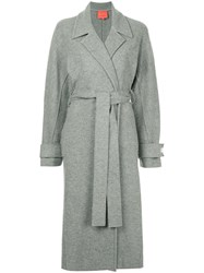Manning Cartell Belted Trench Coat Grey