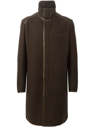 Fendi Classic Overcoat Brown