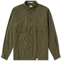 Bedwin And The Heartbreakers Marshall Shirt Jacket Green
