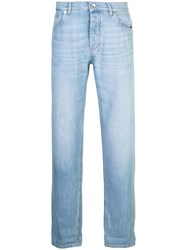 Brunello Cucinelli Light Washed Jeans Blue