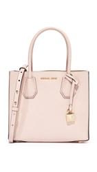 Michael Michael Kors Medium Mercer Messenger Bag Soft Pink