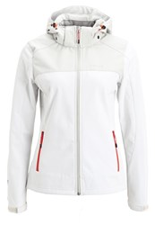 Icepeak Lindan Soft Shell Jacket Natural White Off White