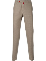 Kiton Straight Fit Trousers