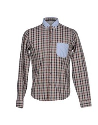 J.W. Tabacchi Shirts Light Grey