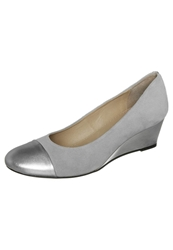 Pier One Wedges Argento Cristal Silver