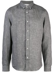 Brunello Cucinelli Relaxed Fit Shirt Grey