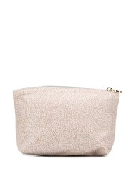 Borbonese Classic Toiletry Bag Neutrals