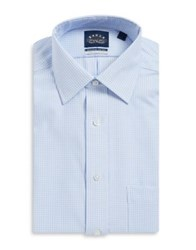 Eagle Checked Cotton Dress Shirt Afternoon Delight