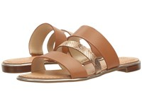Guess Rianda 2 Saddle Gold Women's Sandals Brown