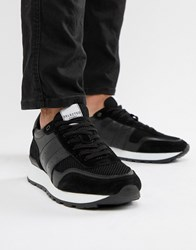 Selected Homme Premium Runner Trainer Black