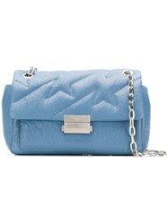 Zadig And Voltaire Ziggy Bubble Shoulder Bag Blue