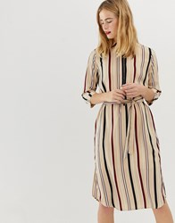 Selected Femme Stripe Shirt Dress Multi