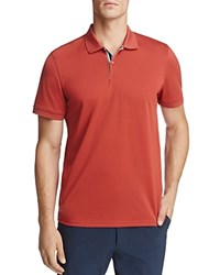 Ag Green Label Berrian Short Sleeve Polo Shirt Red