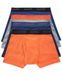 Alfani Boxer Briefs 4 Pack Only At Macy's Pumpkin
