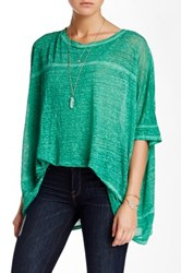 Biya Beamy Linen Tee Green