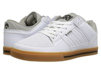 Osiris Protocol White Grey Gum Men's Skate Shoes