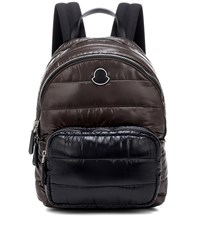 Moncler Kilia Medium Quilted Backpack Brown