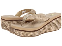 Volatile Island Natural Women's Wedge Shoes Beige