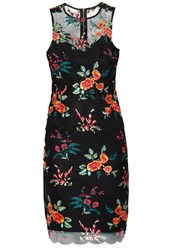 Dorothy Perkins Cocktail Dress Party Dress Multi Bright Multicoloured