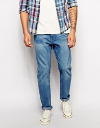 Levi's Levis Jeans 508 Regular Tapered Fit Freeland Mid Wash