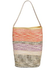 Missoni Straw Blend Top Handle Bag Multicolor