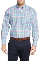 Tailorbyrd Men's Big And Tall Peachleaf Sport Shirt