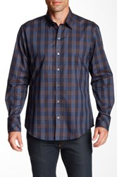 Zachary Prell Acheson Long Sleeve Shirt Blue