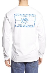 Southern Tide Men's 'Skipjack' Long Sleeve Graphic T Shirt