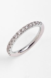 Women's Bony Levy Stackable Diamond Band Ring White Gold Nordstrom Exclusive