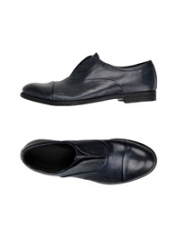 Pawelk's Lace Up Shoes Dark Blue