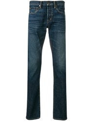 Tom Ford Casual Slim Fit Jeans Blue