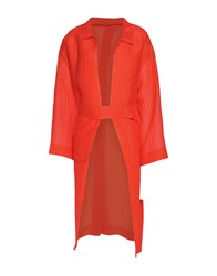 Emilia Wickstead Overcoats Orange