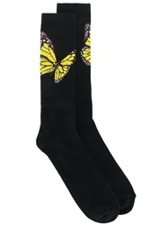 Palm Angels Butterfly Print Socks 60