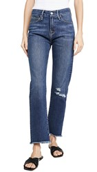 Good American Straight Jeans Blue407