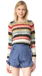 Alice Olivia Carly Sweater Multi