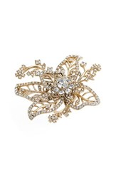 Women's Marchesa Crystal Flower Ring