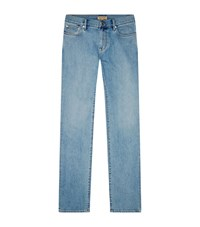 Burberry Slim Jeans Male Blue
