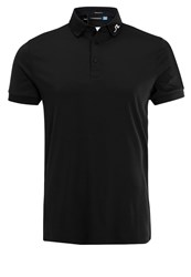 J. Lindeberg J.Lindeberg Regular Fit Polo Shirt Black