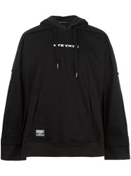 Ktz Inside Out Hoodie Black
