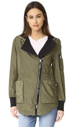 Mackage Cam Rain Jacket Army
