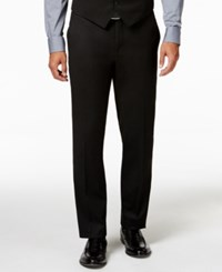 Alfani Red Traveler Black Pv Solid Slim Fit Pants Only At Macy's