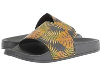 Kenneth Cole Reaction Screen Slide B Yellow Grey Sandals Multi